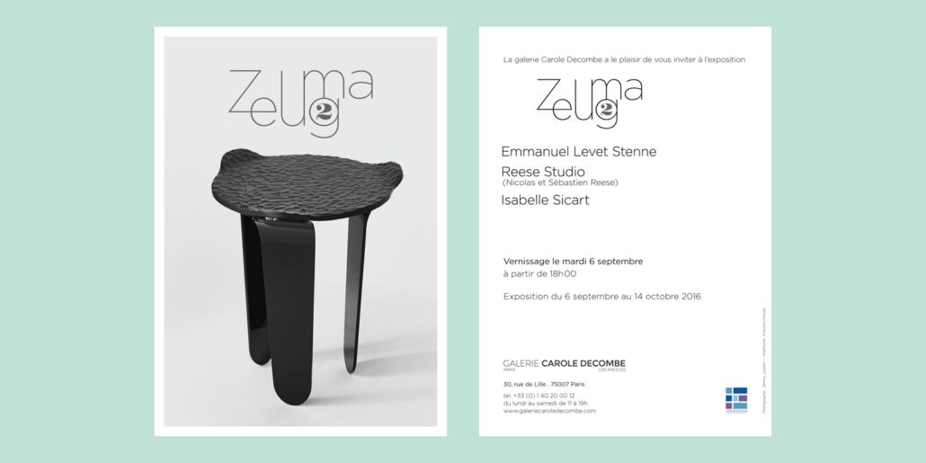 François Chevret | graphiste - Exposition Zeugma 2